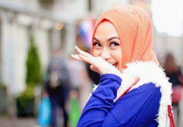 hijaber cantik